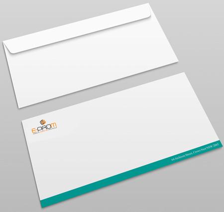 koperty z nadrukiem firmowym